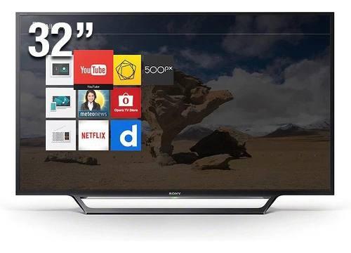 Tv led sony smart tv kdl-32w605d