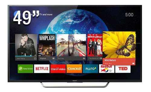Tv sony 49 ultra hd 4k smart tv android xbr-49x705d la8