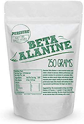 Beta Alanina 250gr Americana Stock