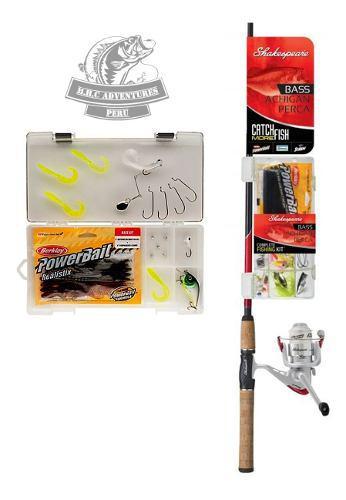 Kit De Pesca Shakespeare Ideal Para Agua Dulce