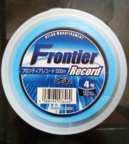 Monofilamento Frontier Ygk Rollo De 500mts