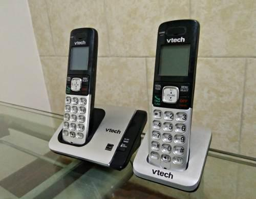 Teléfonos inalámbricos vtech cs6719-2, dect 6.0
