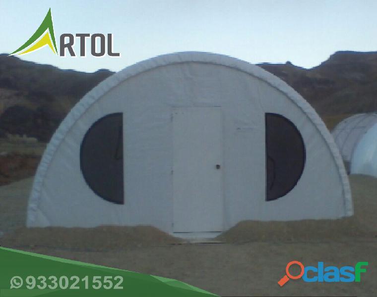 Campamentos exclusivos modelo igluu   artol perú