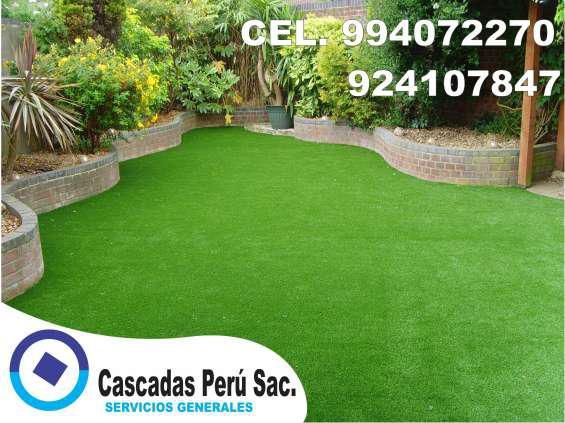 Grass artificial deportivo, grass artificial decorativo,