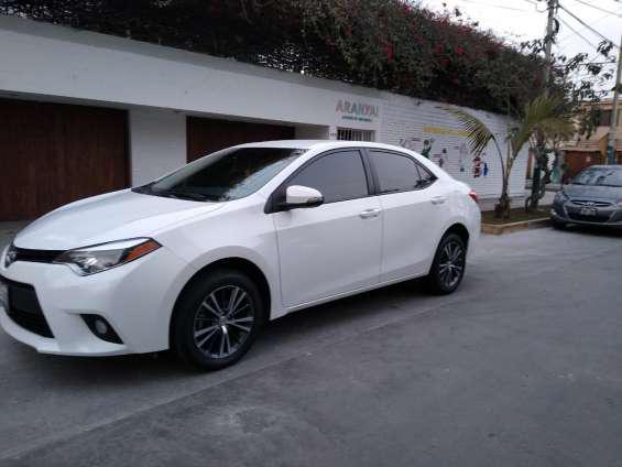 Toyota corolla le 2016 – full equipo en lima