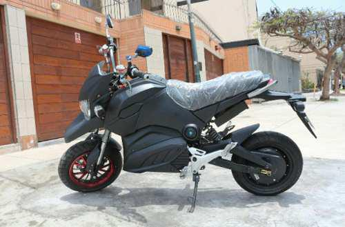 Bicimoto moto scooter electrica forza doble amortiguacion