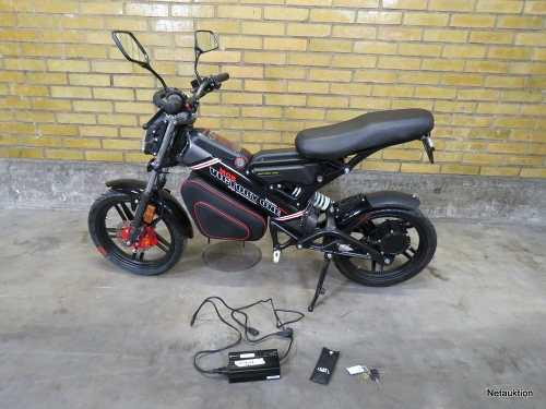 Bicimoto moto scooter electrica pantera doble amortiguacion