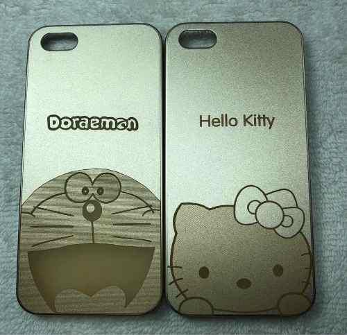 Case carcasa iphone 5 s disney doraemon hello kitty simpson