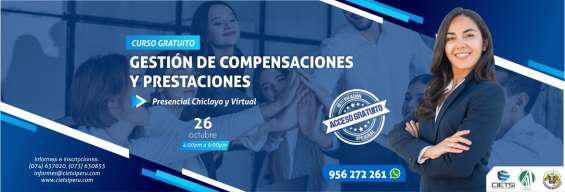 Curso especializado gestión de compensaciones y