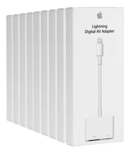 Adaptador apple de lightning a hdmi para iphone ipad