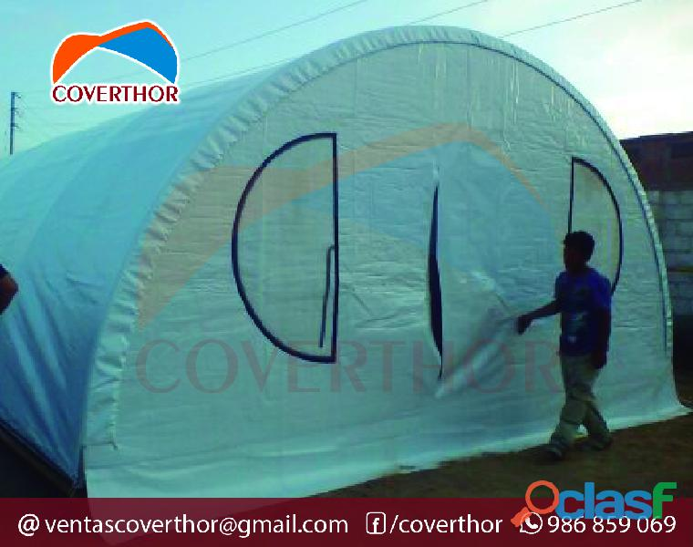 Campamentos Mineros Coverthor