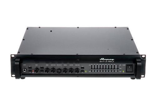 Ampeg svt-3 pro cabezal amplificador de bajo a tubos 450 w