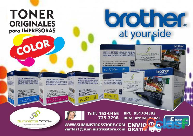 Toner brother delivery a todo lima