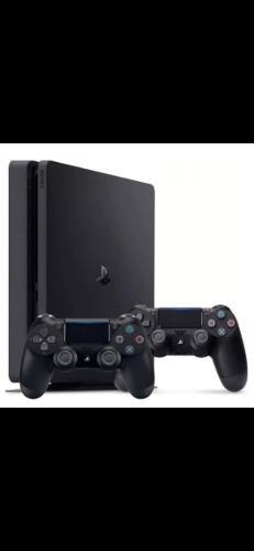 Ps4 consola slim - 1tb - 2 mandos - 7 juegos
