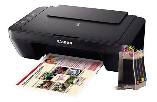 Impresora canon e402 multifuncional sistema de tinta continu