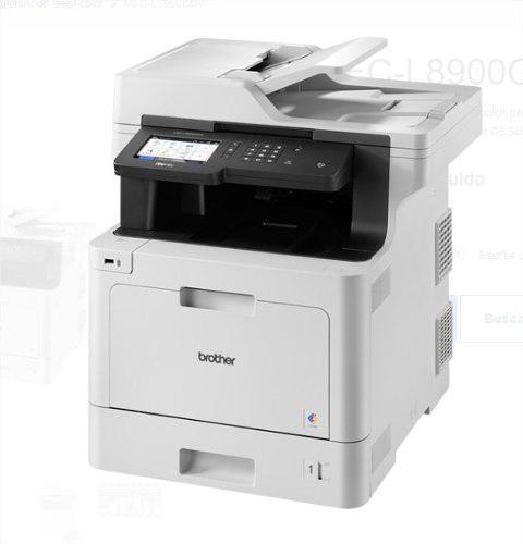 Impresora multifuncional brother color wifi mfc l8900cdw isc