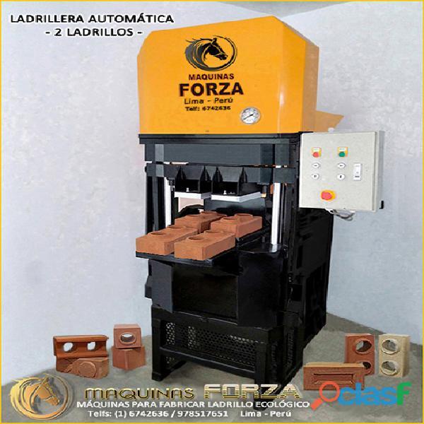 Maquinas automáticas para ladrillo ecológico