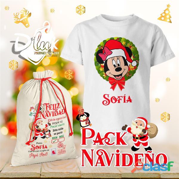 Pack navideño personalizado