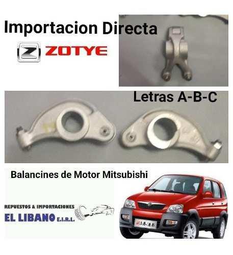 Balancines para jac-zotye-byd-changan motor mitsubishi
