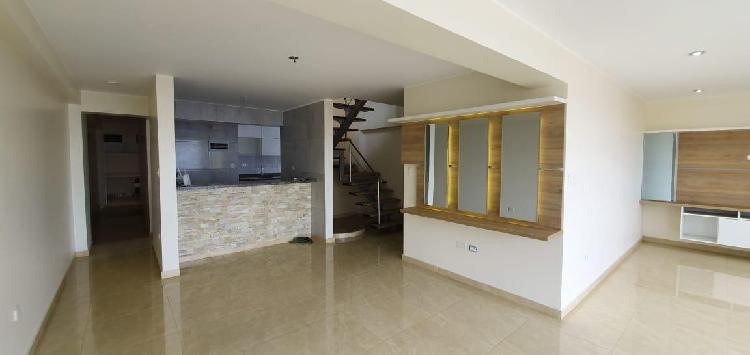 Departamento duplex en venta – urb. sol de oro – los