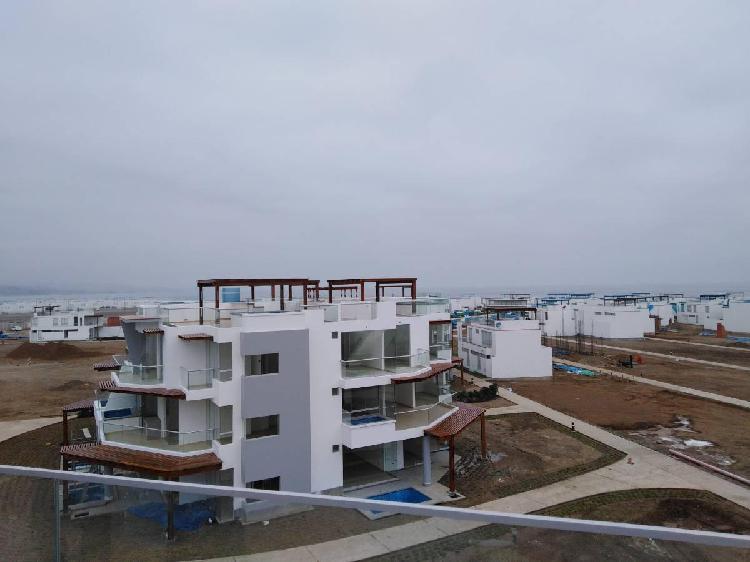 Departamento de playa en exclusivo condominio en asia
