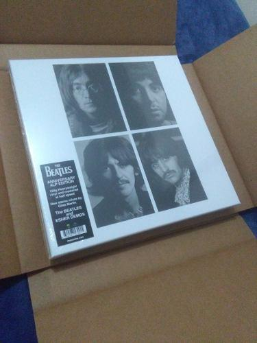 The beatles white album anniversary edition 4 vinilos
