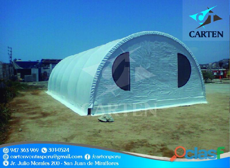 Campamentos modelos mineros carten perú