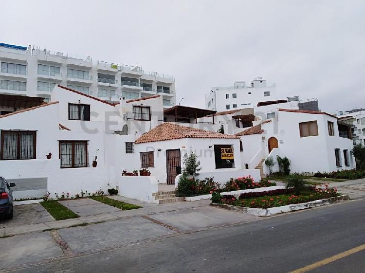 Alquiler casa de playa amoblada por mes/temporada en el