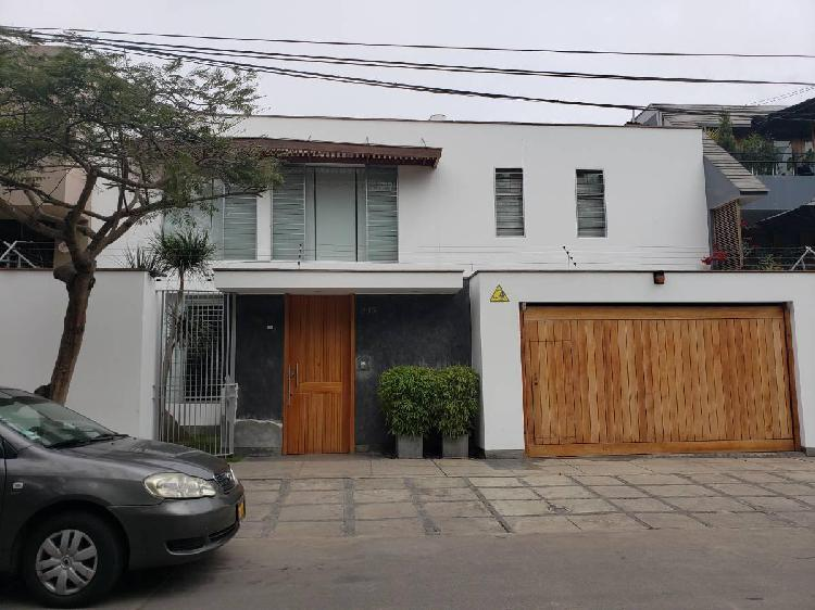 Alquilo moderna casa amoblada en san antonio, remodelada por