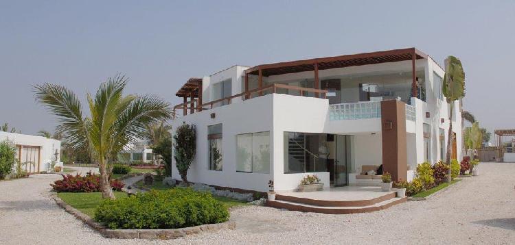 Asia casa de playa 350 m², 7 dorm., 4 estacionamientos club