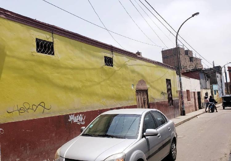 Casa como terreno - jr. oropesa - cercado de lima