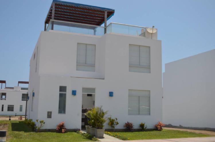 Casa de playa - condominio mallorca - asia, san vicente de