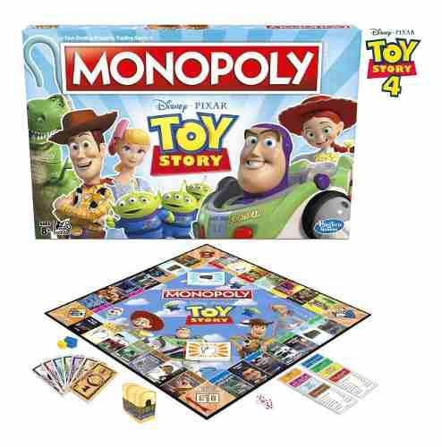Toy story 4 monopolio original oferta hasbro disney pixar