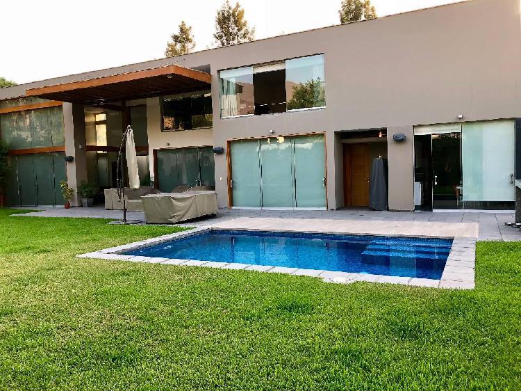 Venta o alquiler espectacular casa segura rinconada baja la