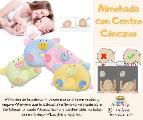 Almohadas con centro cóncavo para bebé