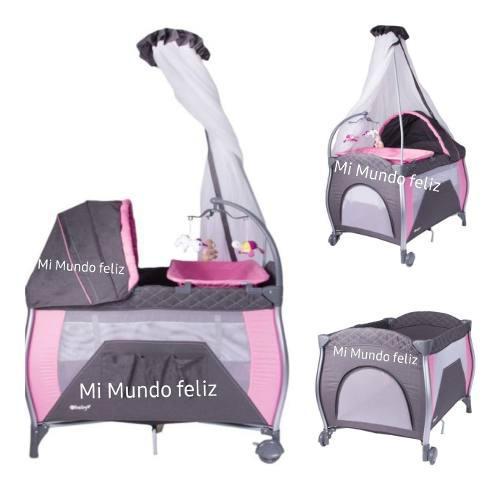 Cuna para bebe corral napy modelo exclusivo con accesorios