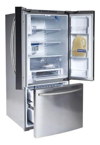 Refrigerador samsung 22 pies cúbicos acero
