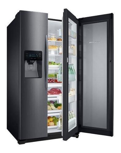 Samsung refrigeradora 639 lt rh25h5613sg twin & metal coolin