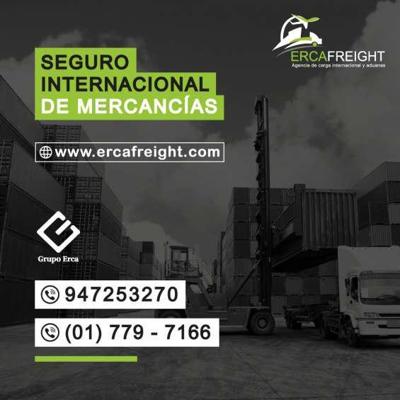 Seguro internacional de mercancías en Lima