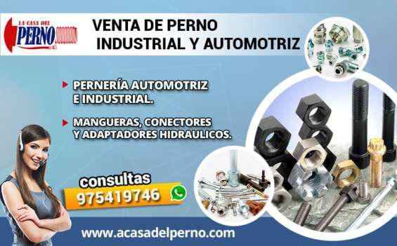 Venta de pernos industrial y automotriz en Lima