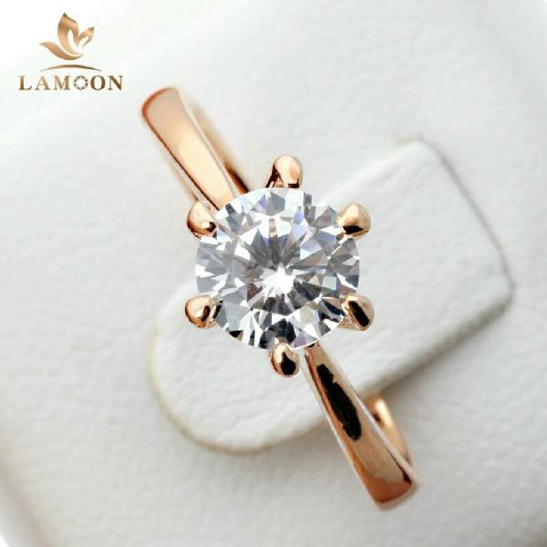 Anillos de Compromiso Oro 18k con Diamantes Aniversario