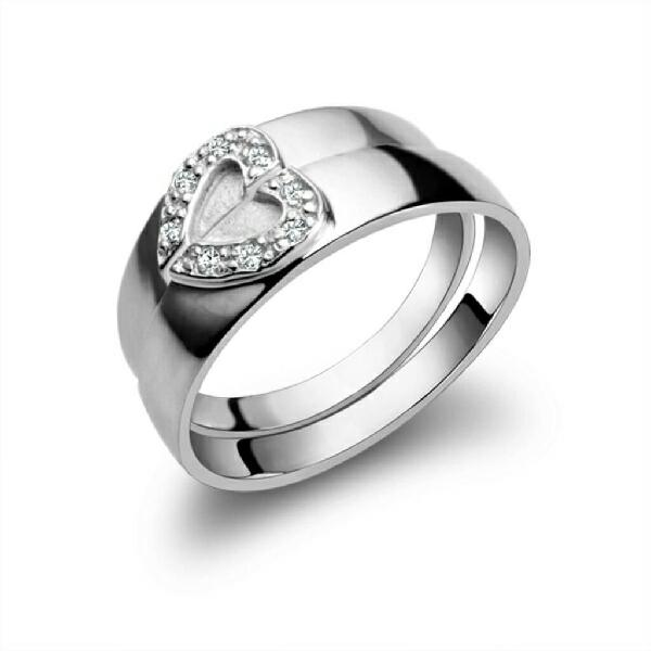 Anillos de Compromiso Parejas Plata 925 Oro 18 K Matrimonio