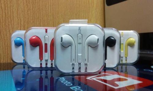 Audífonos Earpods Tipo Para iPhone Micrófono & Control