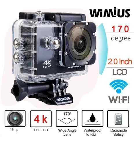 Camara go pro accion 4k 16mp wifi acuatico deportes videos