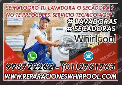 Centro de servicio ((lavadoras whirlpool)) 998722262- los