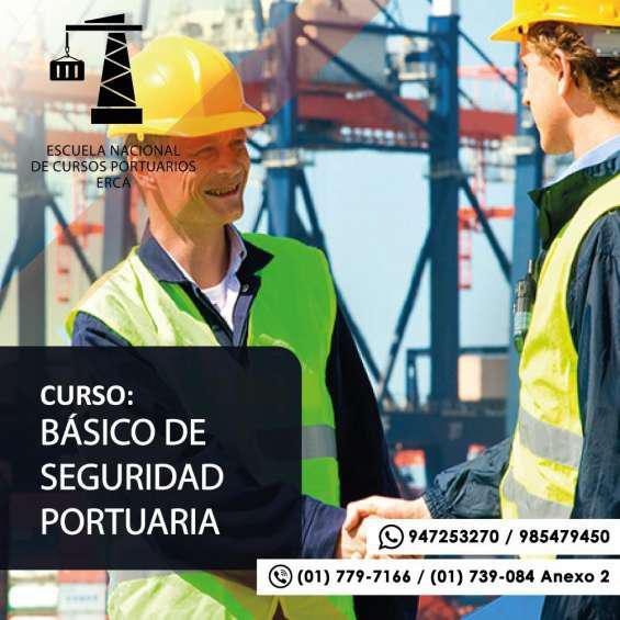 Erca curso de seguridad portuaria en Lima