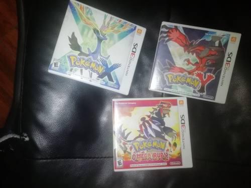 Juegos De Pokemon 3ds