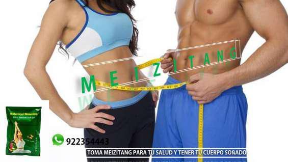 Sin rollos ni grasa de más toma meizitang en Lima