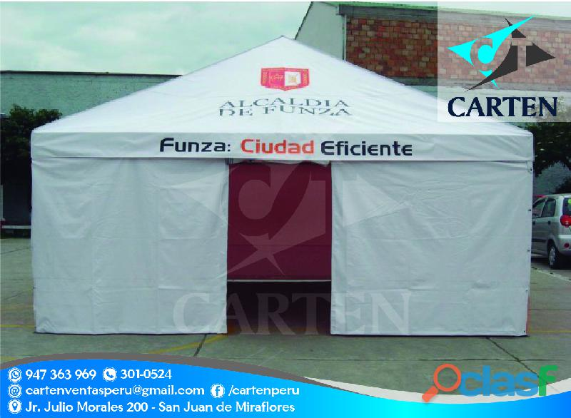 Carpas Ideales Para Campaña Carten Perú 2