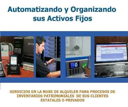Alquiler software inventario activos fijos patrimonial sbn